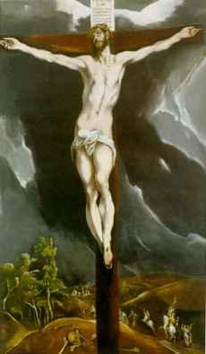 cristo crucificado el greco